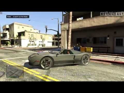 Grand Theft Auto V (GTA 5) Gameplay Walkthrough Part 3 Repossession XBOX 360  PS3