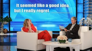 Ellen Plays an Unpredictable Game of 'Fill in the Blanchett' with Cate Blanchett