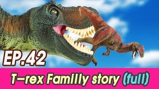 [EN] Full story. Hungry T-rex familly + bonus cut (kids education, collecta figure [cocostoy]