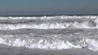 Sounds of the Atlantic ocean - relaxation video (full HD)