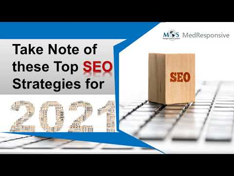 Take Note of these Top SEO Strategies for 2021
