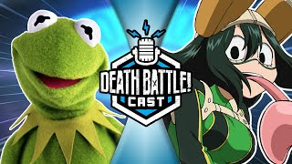Kermit VS Froppy w/ Elyse Willems | DEATH BATTLE Cast #215