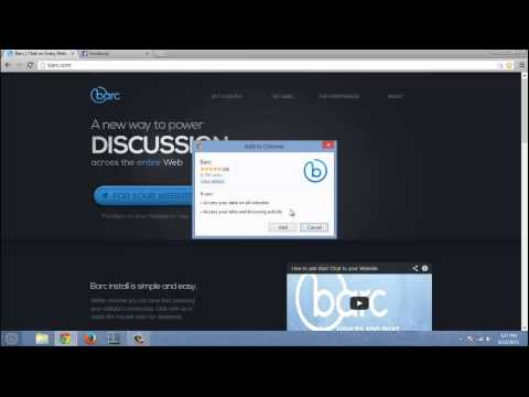 How To Chat on any Website with Barc