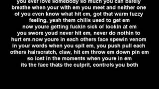 Eminem ft Rihanna - Love the way you lie  LYRICS