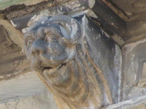 Gargoyle from Kronborg Castle Denmark