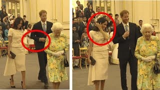 Prince Harry refuses to hold Meghan's hand.  Body language expert explains
