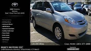 Used 2008 Toyota Sienna | Mike's Motors LLC, Stratford, CT