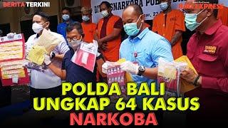 Operasi Antik Agung 2021, Polda Bali Ungkap 64 Kasus Narkoba