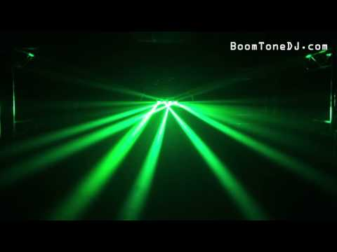 Vidéo BoomTone DJ - Quattro Roll LED