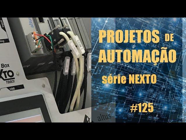 FORNO DE MICROONDAS EMULADO NO CLP NEXTO (p4) | Projetos de Automação #125