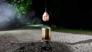 Why you shouldn't deep fry a wet turkey
