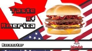 Baconator - Wendy's - Taste of America