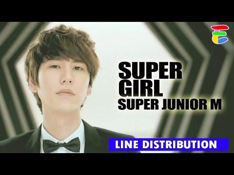 [LINE DISTRIBUTION] Super Junior M - Super Girl