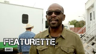 Fear the Walking Dead - Lennie James's First Day on Set