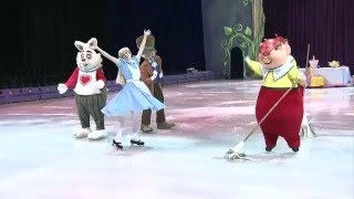 Disney On Ice Treasure Trove Painting the Roses Red