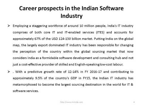 How Can A Distance Post Graduate Diploma In IT Shape Your Career In Software Industry | MITSDE