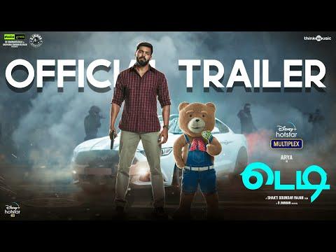 Teddy official trailer- Arya and Sayyeshaa- March 12