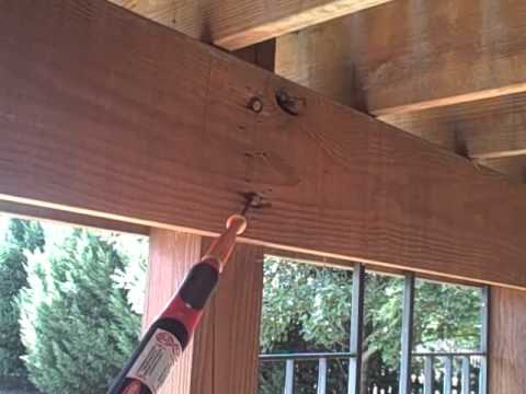 How To Build A Deck On The 2nd Story Of Your House Part