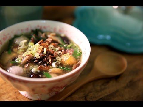 【蘿潔塔的廚房】古早味:鹹湯圓。第一次煮鹹湯圓就上手!無敵簡單無敵好吃。沒有吃過的人,趕緊動手做做看。
