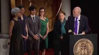 Leonard Lopate - The Leonard Lopate Show - 2012 Peabody Award Acceptance Speech