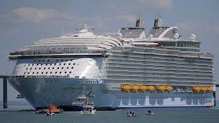 Khám Phá Bên Trong Du thuyền lớn thứ 2 Thế Giới Harmony of the Seas sang trọng cỡ nào | MC Trúc Thy