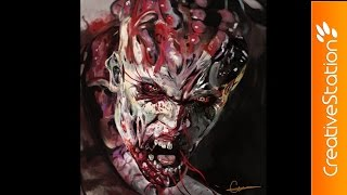Night Hunter Zombie – Speed Painting (Photoshop) | CreativeStation