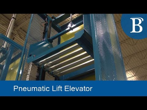 Pneumatic Lift Elevator for Product Transport - Bastian Solutions