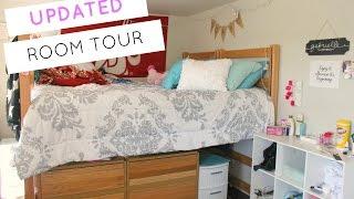Dorm Room Tour   FRESHMAN YEAR (UPDATED!!)