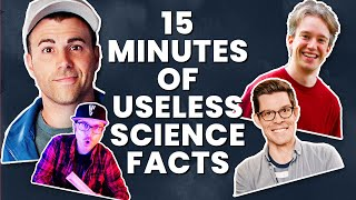 A Solid 15 Minutes Of Science Facts (w/ Mark Rober & More!)