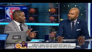 GameTime - LeBron James will not travel with Lakers on upcoming road trip | Lakers Talk