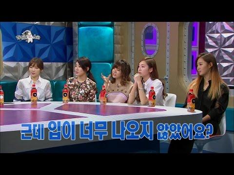 【TVPP】SNSD - The truth of Seohyun & Kyuhyun's kiss scene, 사심 뽀뽀?! 서현 & 규현, 키스신의 진실 @ Radio Star