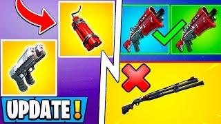 *ALL* Fortnite 9.30 Changes! | Big Shotgun Update, RIP Explosives, New Islands!