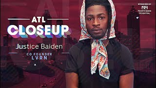 ATL Closeups   LVRN co-founder Justice Baiden holds his city down