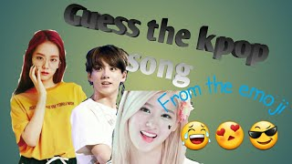 Guess the kpop song from the emoji (EASY)