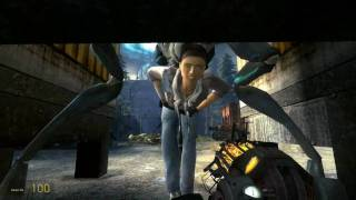 Half Life 2 Episode 2 - The Hunter Attacks (HD)