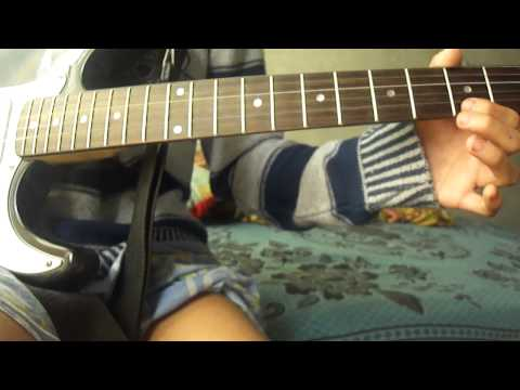 Como tocar tapion-theme dbz guitarra electrica (tutorial)