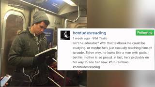 'Hot Dudes Reading' Instagram Will Bring Joy to Your Feed