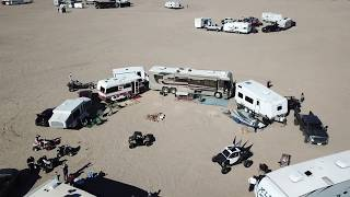 Dumont Dunes presidents day 2019 Camp site