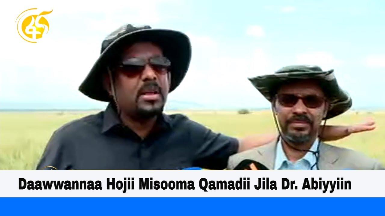 Daawwannaa Hojii Misooma Qamadii Jila Dr. Abiyyiin