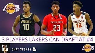 Lakers Rumors: Top 3 Players The Los Angeles Lakers May Target at Pick #4 In 2019 NBA Draft