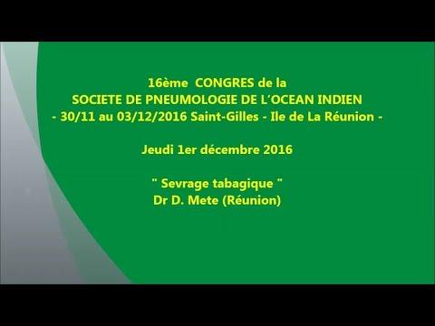 Sevrage tabagique. Dr D. Mete Réunion