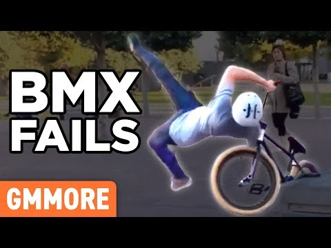 Ridiculous BMX Bike Fails (GAME)