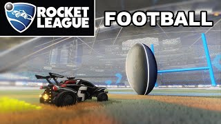 This BRAND NEW Map is BEAUTIFUL | American Football Rocket League