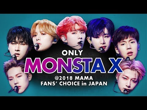 MONSTA X at 2018 MAMA FANS' CHOICE in JAPAN | All Moments