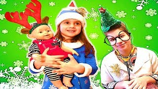 Miss Polly Had a Dolly | Songs for kids Nursery Rhymes on Christmas.