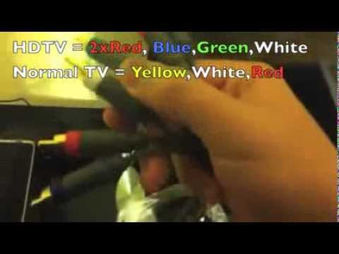 How To Connect Xbox 360 To Hdtv Using Component Hd Av