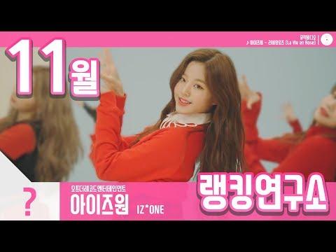 [랭킹연구소] 2018년 11월 걸그룹 순위 (여자아이돌 브랜드)   K-POP IDOL Girl Group Chart (November Brand)