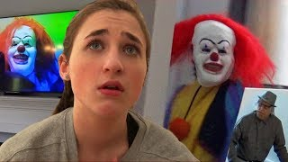 Creepy Clown Follows us Home and Removes Costume!