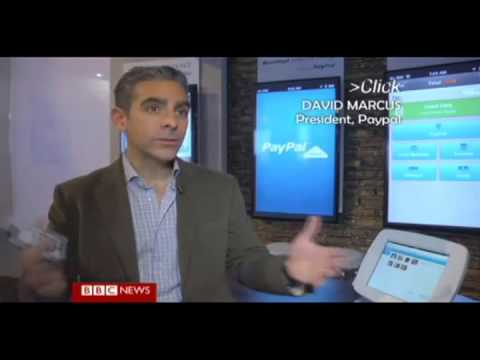 Tablet and iPad kiosk enclosures by Bouncepad on BBC Click