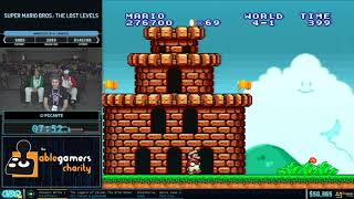 Super Mario Bros.: The Lost Levels by Picante in 39:03 - GDQx 2019